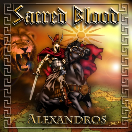 Sacred Blood – Alexandros (Pitch Black Records, 2012)