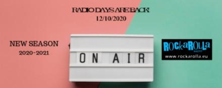 RADIO DAYS ARE BACK! NEW SEASON 2020-2021