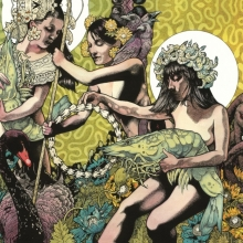Baroness-Yellow and green album
